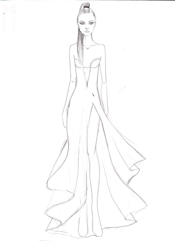 5 minute fashion sketching series  sketchin5