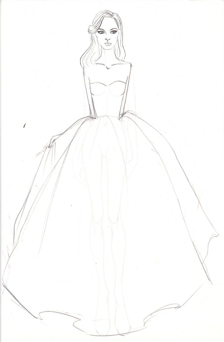 Fashion Sketching Made Easy 5 Minute Fashion Sketches Sketchin5