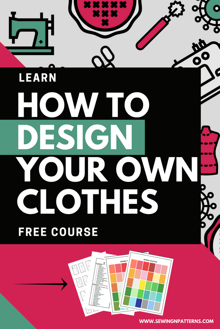 7 days mini course to discover your personal style and develop your design skills. This course is for anyone who wants to design their own clothes and develop their own style. Click here to register now: https://sewingnpatterns.com/design-your-own-clothes/ #fashiondesign #sewing #DYOC #patternmaking #fashionillustration sewingnpatterns.com