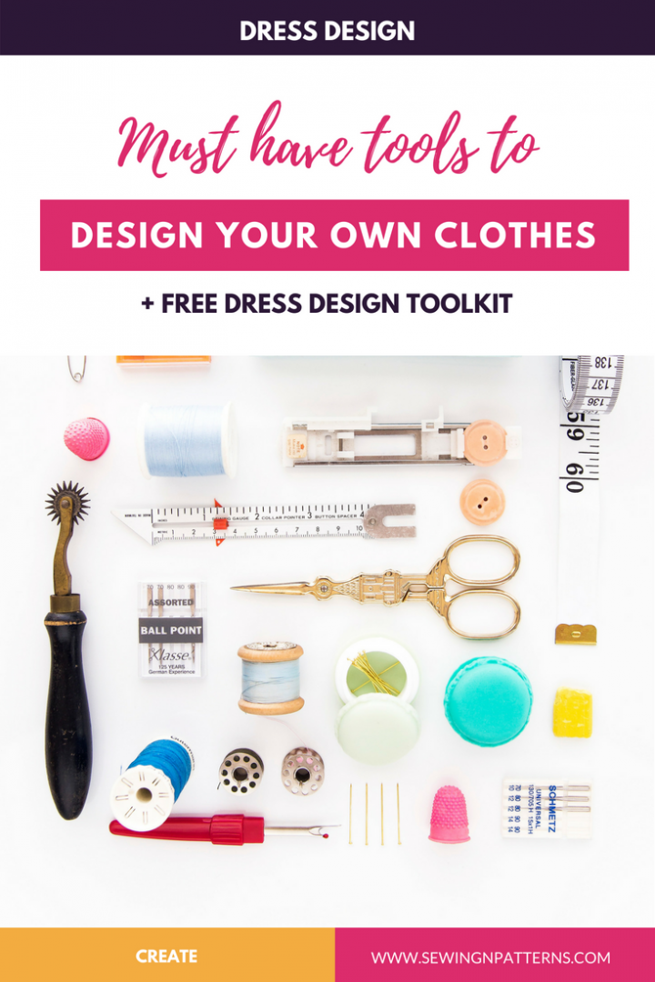 Dress Design Tools Kit Musk Have Tools To Create Your Own Clothes