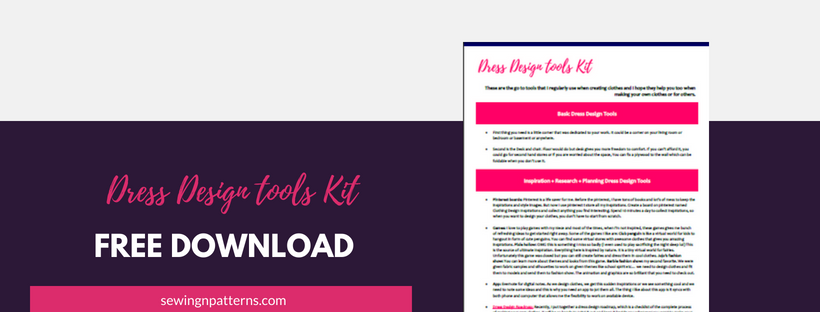 Simplify your dress making process with this ultimate dress design tools kit, especially for sewing beginners. Click here to Download your copy… fashion design tools, dress design tools, sewing for beginners, sewing tips, dress design ideas, design your own clothes, how to make clothes,
