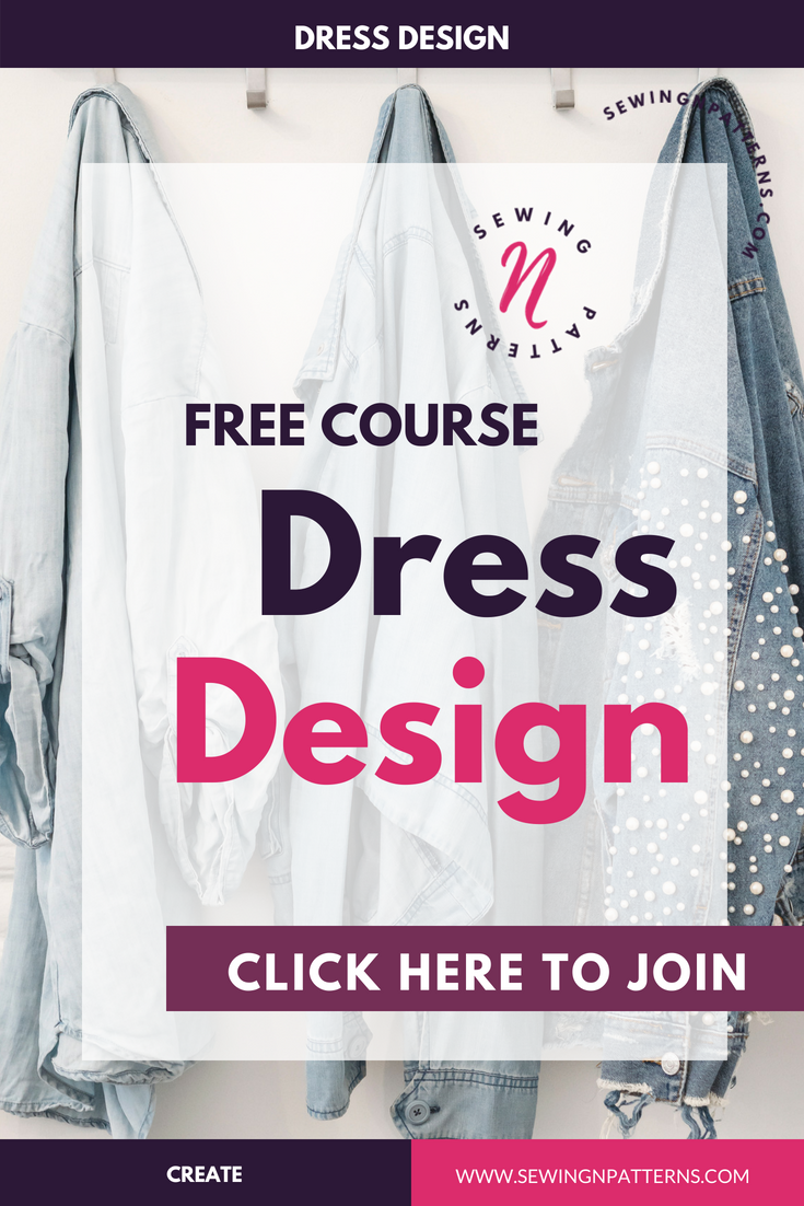 Free 3 days course on how to desoign your own clothes. This is for sewing beginners, fashion designers, who loves to sew with sewing patterns, fashion illustrations, basically anyone who want to learn how to design clothes and be their own fashion designer. This course gives you the foundation, ideas and techniques on choosing the colors that actually suit you, understanding your body and designing clothes according to it. I even put some pattern making techniques to help you draft and create your own dress.