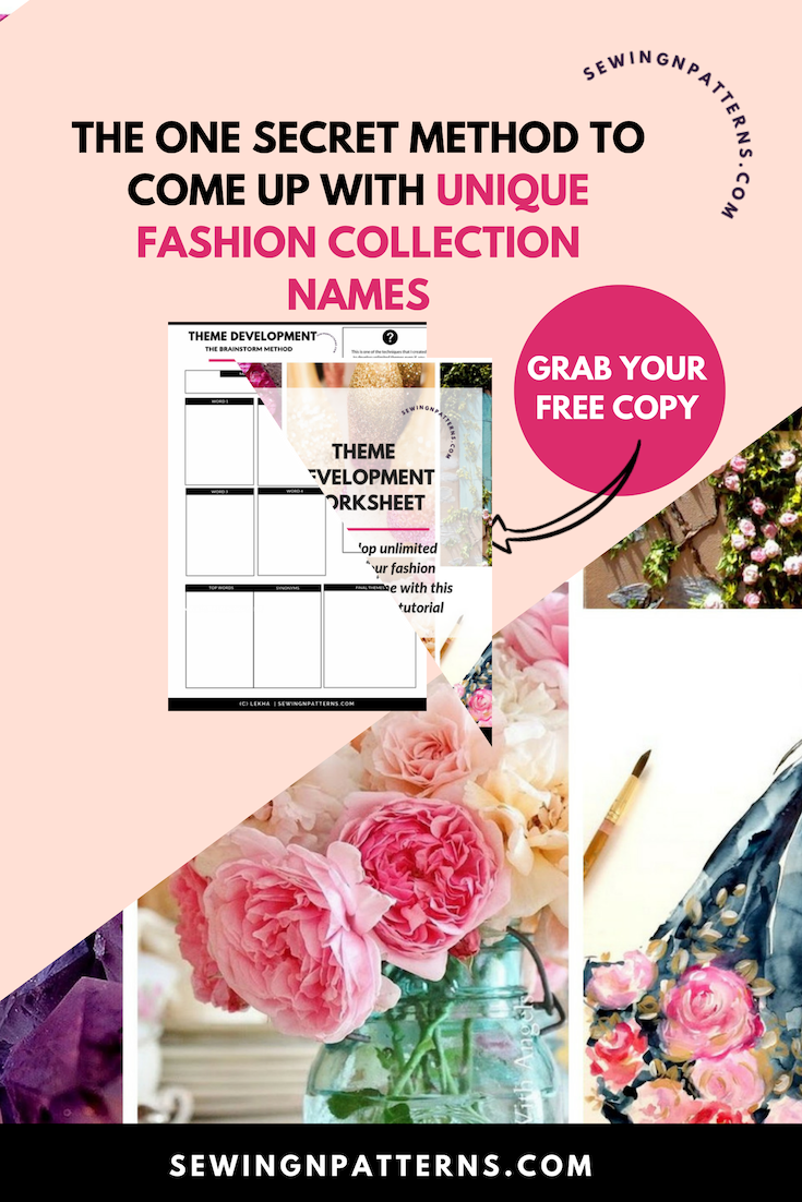 Wanna Design Fashion Collection? The first thing people stuck is comming up with a perfect theme. For real it takes me less than 5 minutes to come up with a unique theme and I am gonna show you how you can too! I even got worksheet and a video for you too! Click here NOW... | fashion line | clothing line ideas | diy clothing line | clothing line branding | boutiques clothing | how to make a clothes line | inspiration clothing | how to start a clothing line | how to clothing
