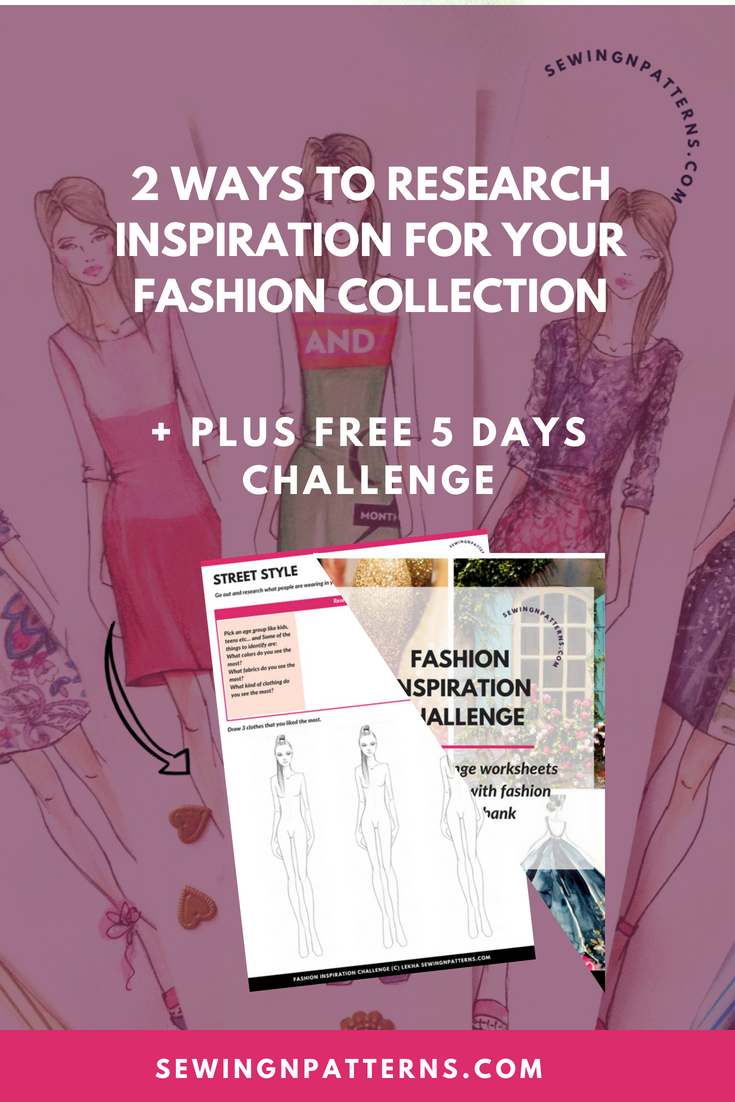 Wanna Design Fashion Collection? I got a free tutorial for you on how to do research for your fashion collection. I am gonna walk you through the step by step process of the 2 types of research, 29 inspiration ideas and a 5 days Free Fashion Inspiration Challenge worksheets for you to download. Click here for tutorial and worksheets. fashion collection | fashion collection illustration | fashion collection portfolio | fashion collection inspiration | fashion collection inspiration ideas | Fashion Design Collection Portfolio | How to Design Fashion Collection | fashion collection |