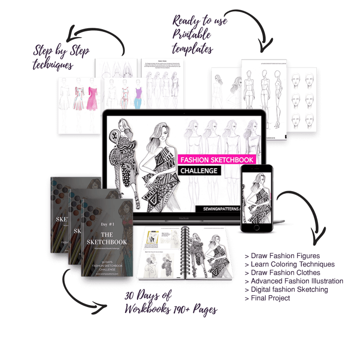 Learn fashion sketches in 30 days