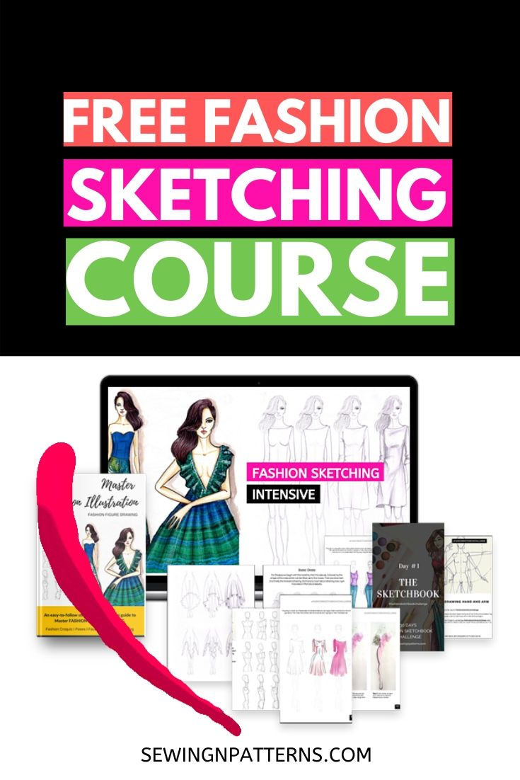 Join Free fashion sketching course at https://sewingnpatterns.com/fashion-sketchbook-challenge/ #fashion #fashionillustration #fashiondesign #fashionart #fashionblogger #fashionblog #fashioncollection #fashiondrawing #fashiongram #fashionmagazine #fashionshow #fashionsketches #fashionweek #sewing #sewingprojects #sewingcrafts #sewingforbeginners #sewinginspiration #sewingideas #sewingprojects #sewingpatterns #sewingtutorials