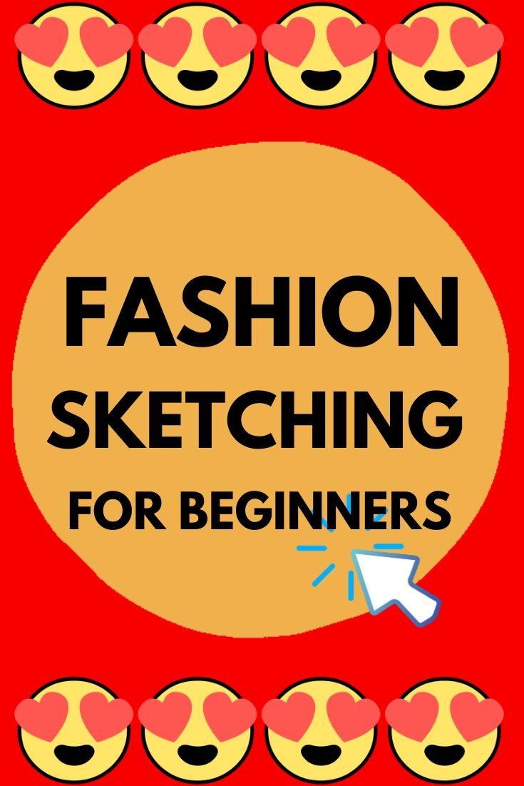 Fashion design sketches for beginners. Join the free Fashion sketching course at https://sewingnpatterns.com/fashion-sketchbook-challenge/ #fashionillustration #fashiondesign #fashioncollection #fashionsketches #fashionbusiness #sewing #sewingprojects